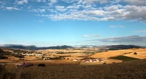 Panorámica de los valles de Gesalatz y Deierri