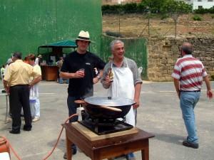En las fiestas de Muzki el año 2005