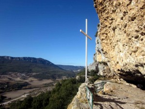 Sierras de Lokiz y Urbasa desde el mirador