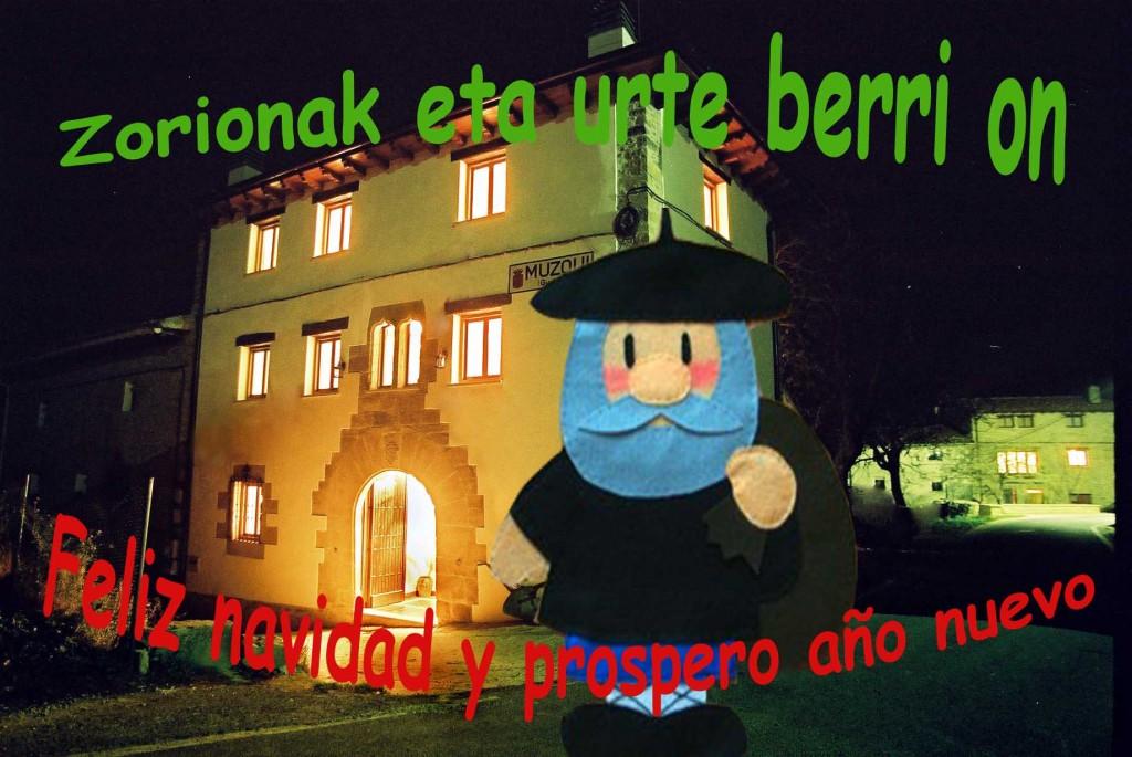 ZORIONAK ETA URTE BERRI ON
